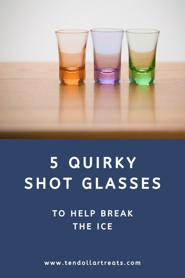 5 Funny and quirky shot glasses