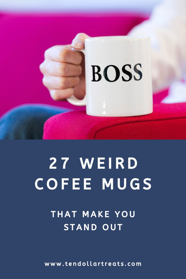 27 Weird and unusual coffee mugs
