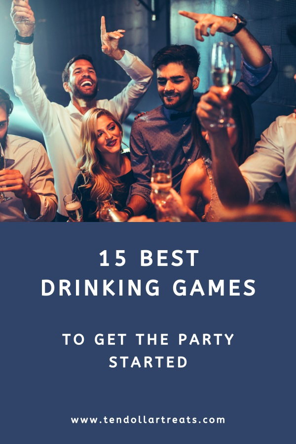 15 Best party drinking games