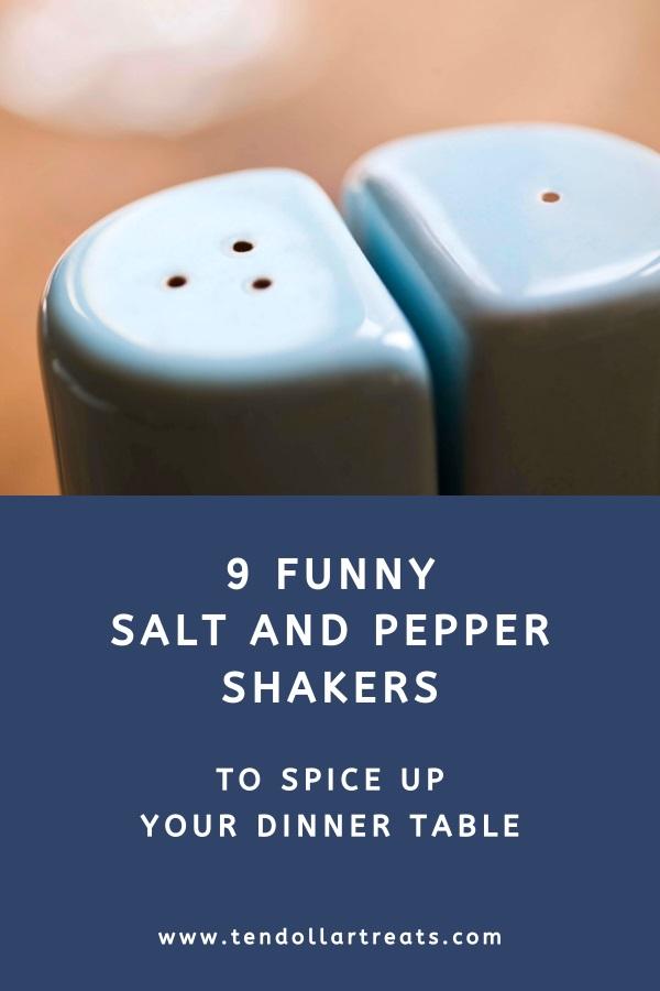 9 Funny salt and pepper shaker sets