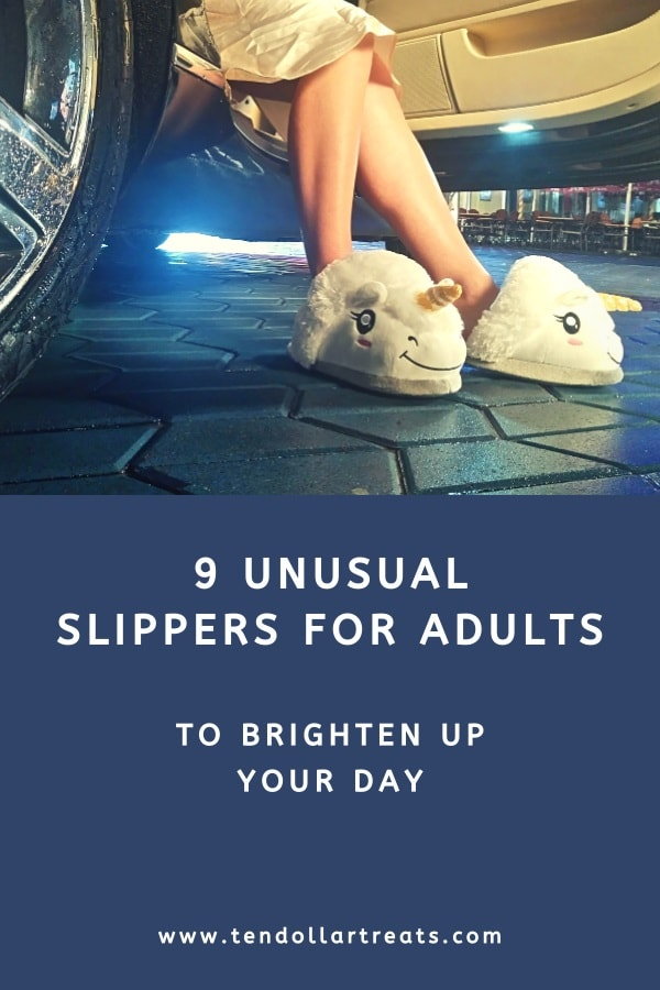 9 Funny and unusual slippers for adults