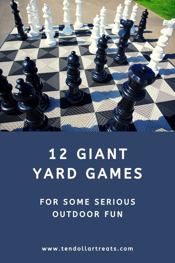 12 Giant yard games for outdoor fun