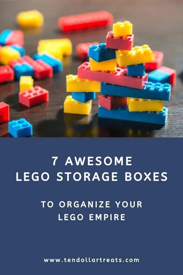 7 Awesome storage boxes for your Lego bricks