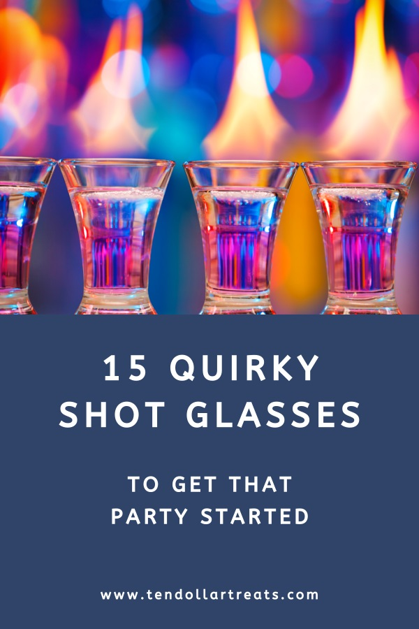 15 Funny and quirky shot glasses