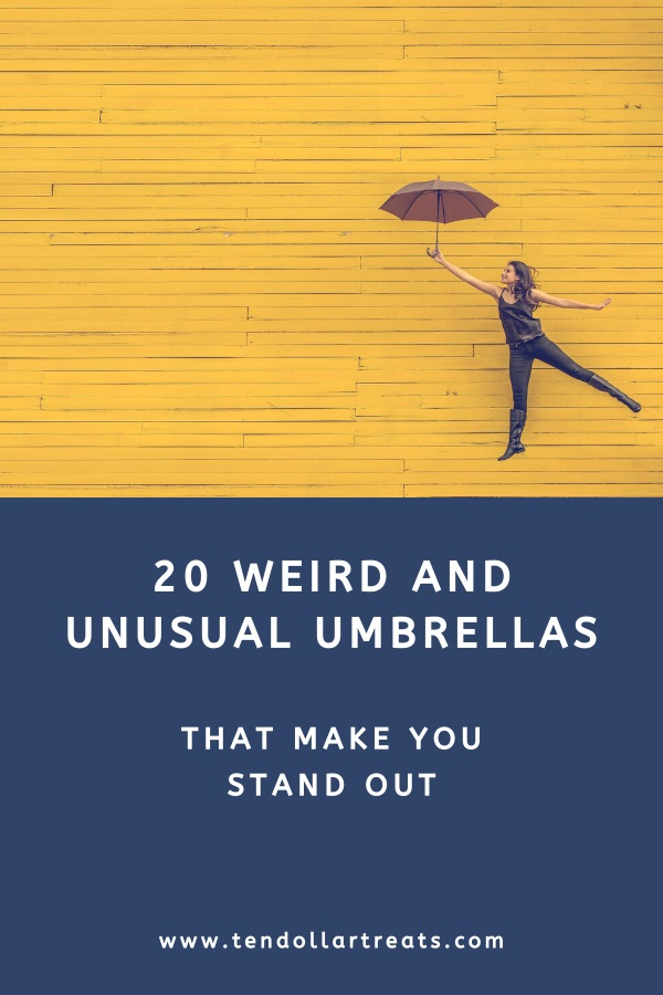 20 Weird and unusual umbrellas