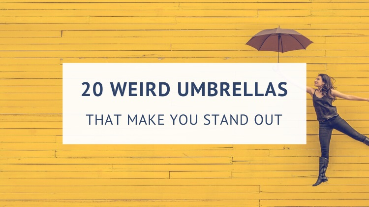 Weird and unusual umbrellas