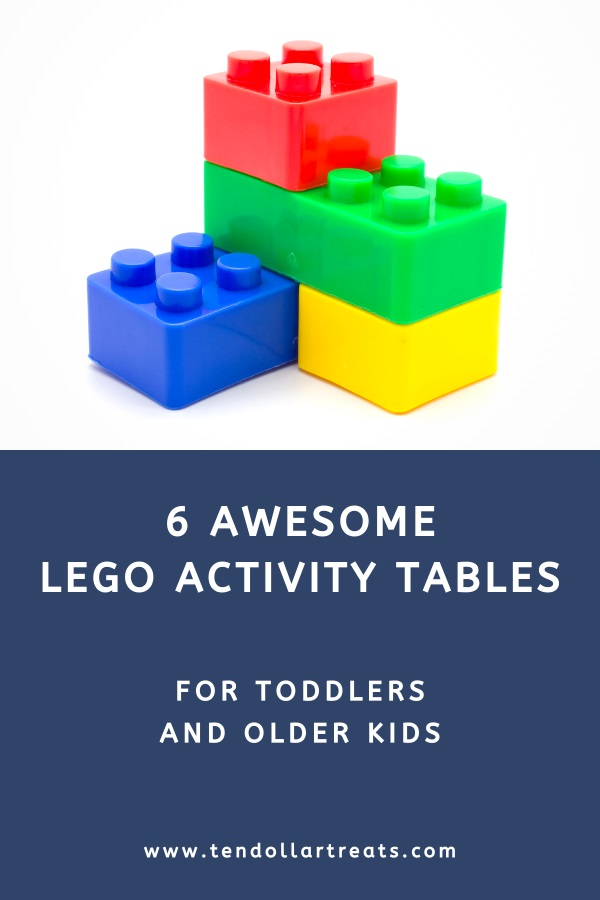 6 Best Lego activity tables