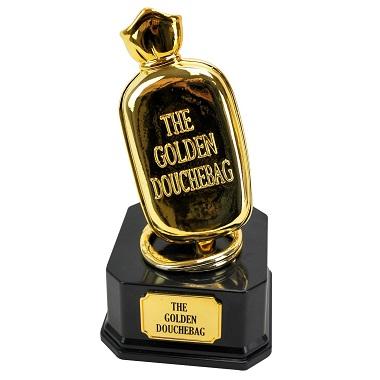 The Golden Douchebag Award