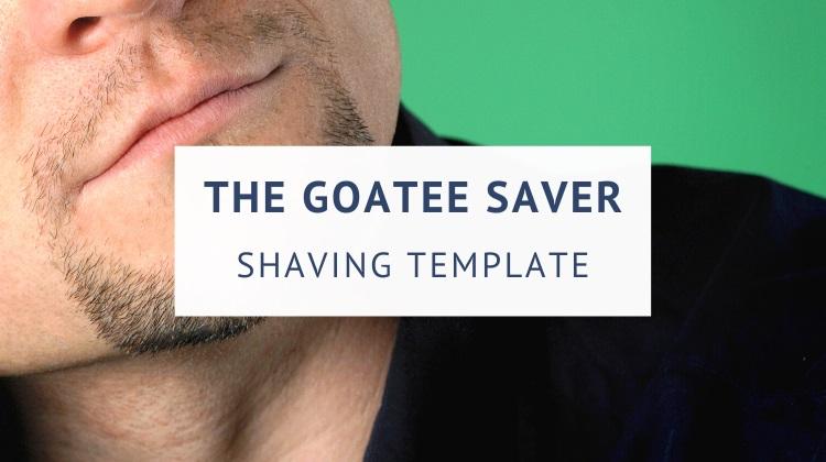 Goatee Saver Shaving Template