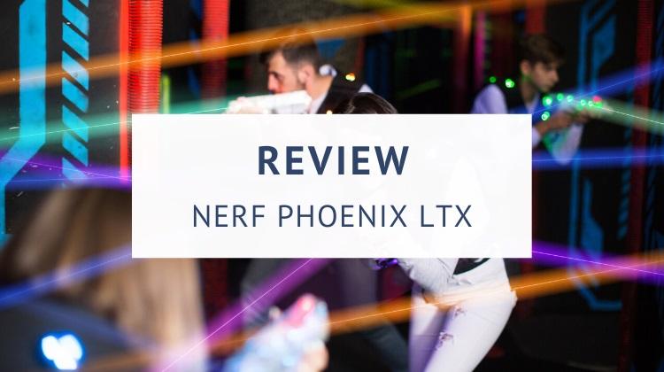 Nerf Lazer Tag Phoenix LTX review